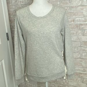 Aerie gray long sleeve top size M
